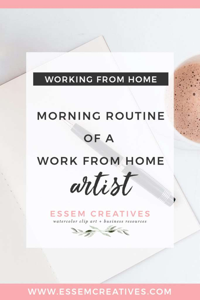 Morning Routine of a Work From Home Artist Designer | How I use my morning routine to supercharge my productivity for the day | My own personal morning routine meditation & exercise