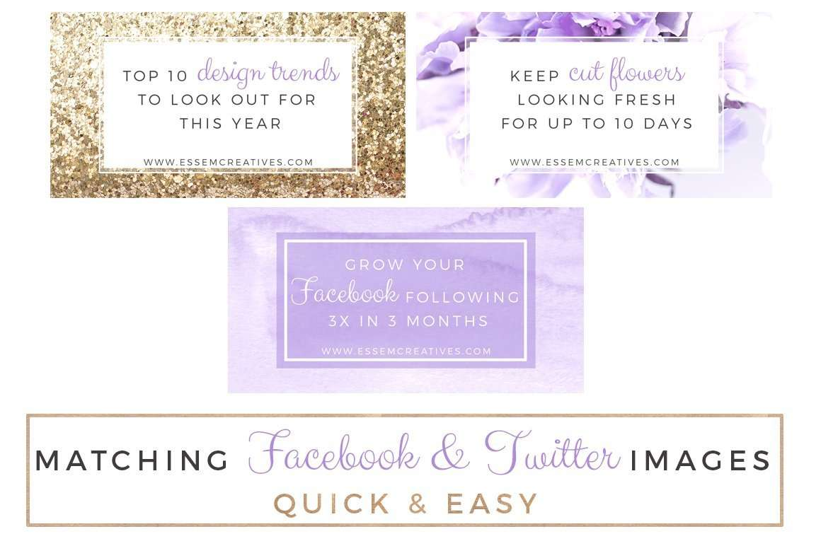 Lavender And Gold Social Media Templates Purple Floral Stock Photos - Instagram cut out template