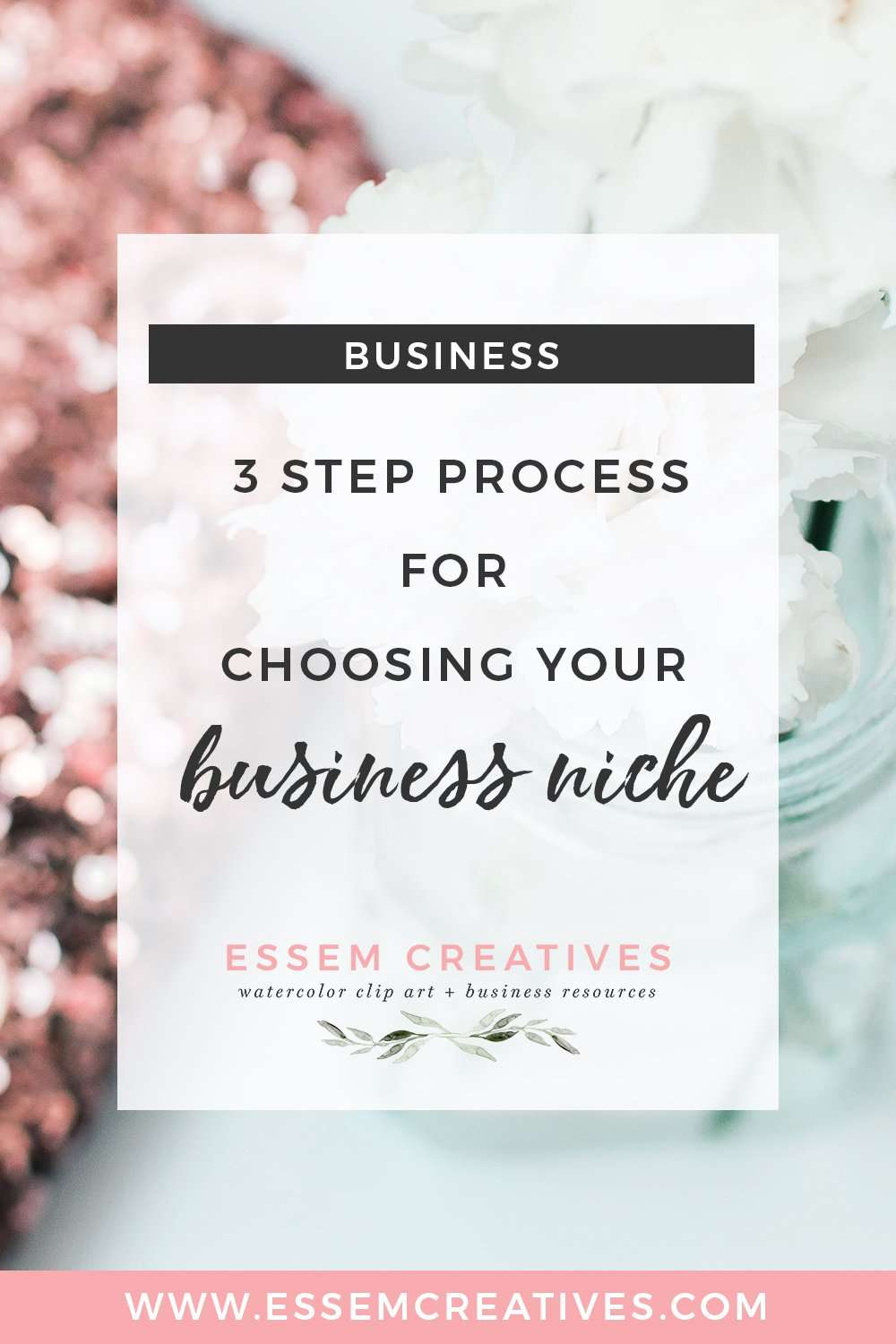 Choosing a business niche 3 step process