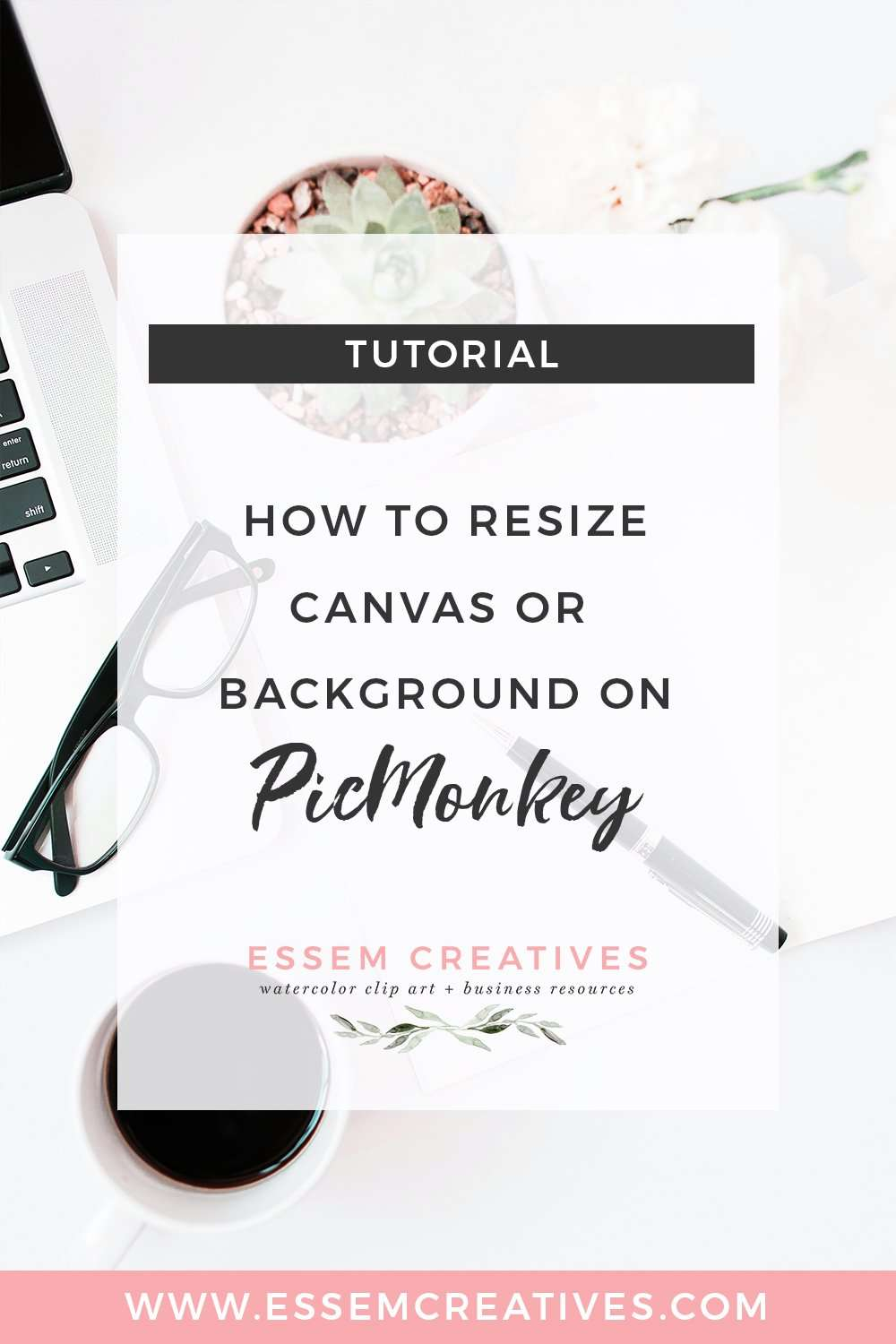 How to resize canvas or background on PicMonkey quickly and easily for your specific needs