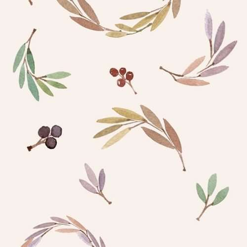 Amber includes a set of fall watercolor wreath clip art for beginner's DIY crafts projects. Use them for card making, kids crafts, for planner stickers, invitations or just for printable wall art. Lots of options possible with these leaves, branches & wreaths>>