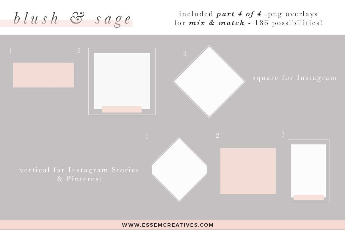 This Blush and Sage Feminine Stock Photos and Social Media Branding Bundle is a Mega Pack of content for small business owners. This kit includes modern minimalist branding images with a touch of watercolor. This stock photo and social media bundle is aimed at busy creative business owners & bloggers who want to be consistent with their posting on Instagram to grow their following & engage with their audience on a regular basis.