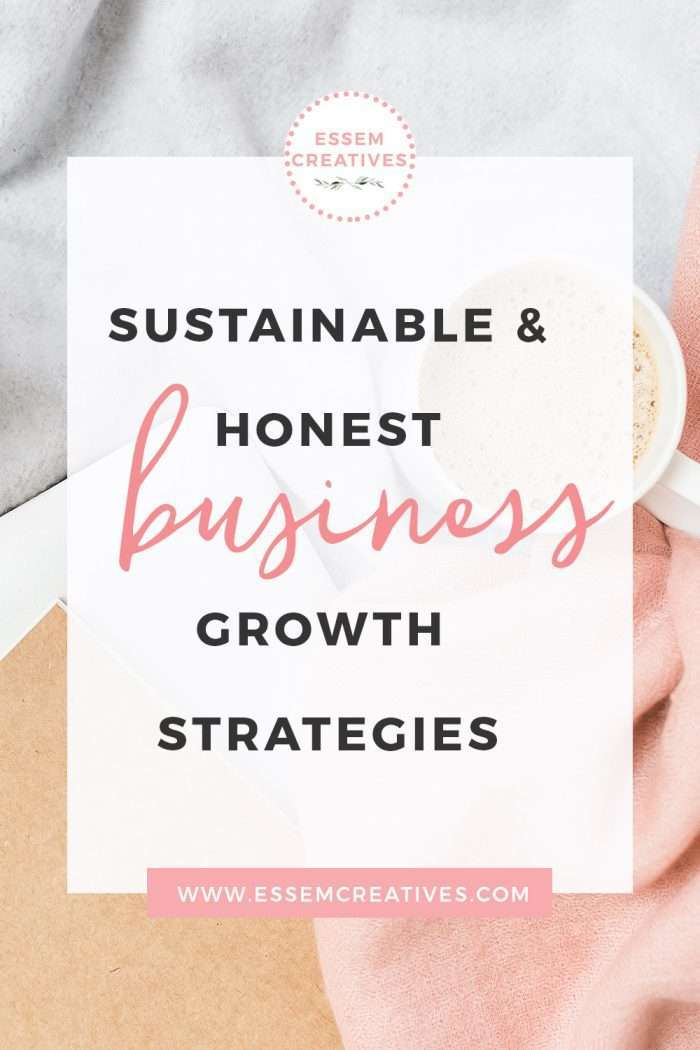 Tips on Starting a New Business from Home: Why Sustainable and Honest Business Growth Strategies are Far Better than Make Money Fast Schemes | How to start and grow a blog and business the ethical way without burning out >>