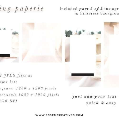 Wedding Paperie Feminine Stock Photos and Social Media Branding Bundle for Wedding Stationers Graphic Designers & Artists This styled stock photo and social media bundle is aimed at busy creative business owners in the wedding industry who want to be consistent with their posting on Instagram to grow their following & engage with their audience on a regular basis>>
