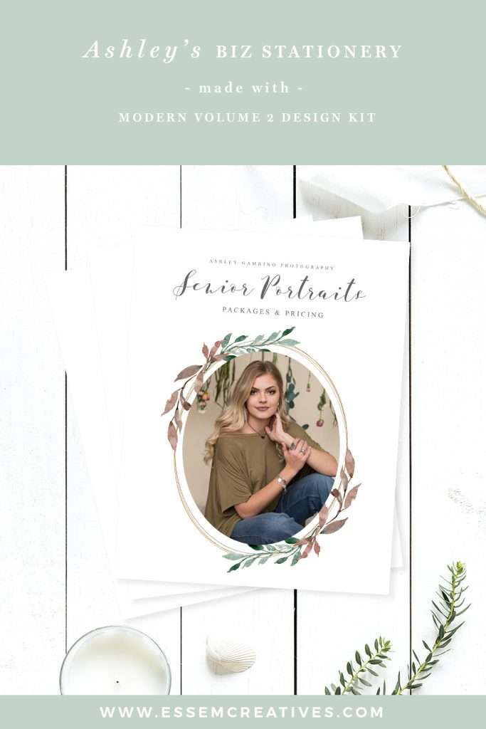Watercolor-Branding-for-Photographers,-Photography-Marketing-Materials-Organic-Leafy-Greenery-Watercolor-Clipart | Watercolor Leaf Clipart for Logo & Branding, Leaf Frames, Organic Brands, Feminine Photography Logo Blog Headers Website Banner | Click to check out how she made it >>