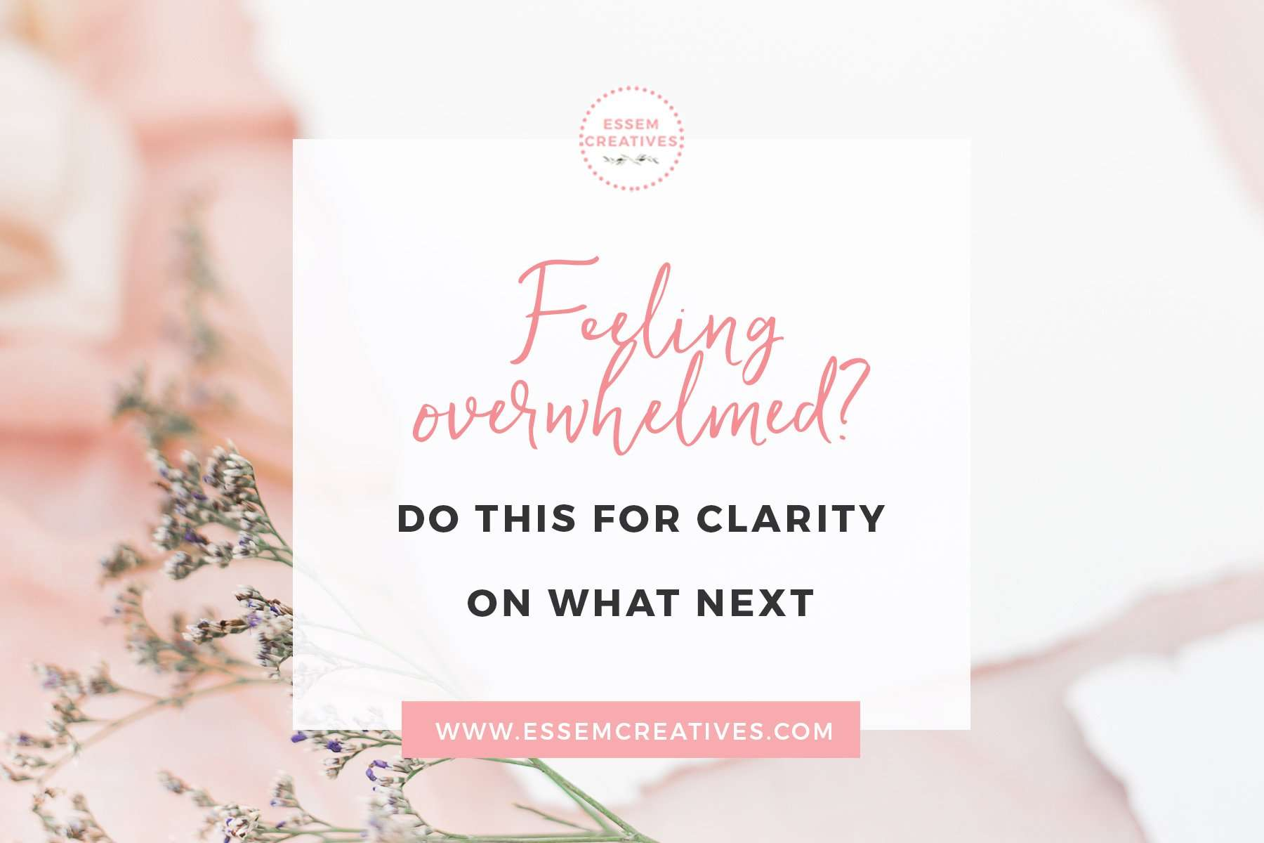 Feeling Overwhelmed with all the advice out there? Don't worry. This is not one more list of 50 advice pieces. This crucial tool will help you overcome the overwhelm, focus on what is truly important, bring you RESULTS while DOING LESS. Click to read more>>