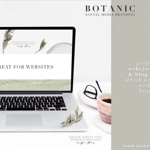 'BOTANIC' is a set of botanical inspired social media branding kit. This kit includes high resolution stock photos shot with a modern, neutral, minimal and high end branding in mind. Shot using natural botanics like olive branches and leaves, this kit also has watercolor splashes, textured surfaces and pre-made Instagram post templates, Instagram stories templates (backgrounds), as well as botanic elements for DIY designs. This is a complete kit which includes all the tools you need to create a cohesive and consistent modern and professional looking brand for your blog, business or website. Click to see more>>