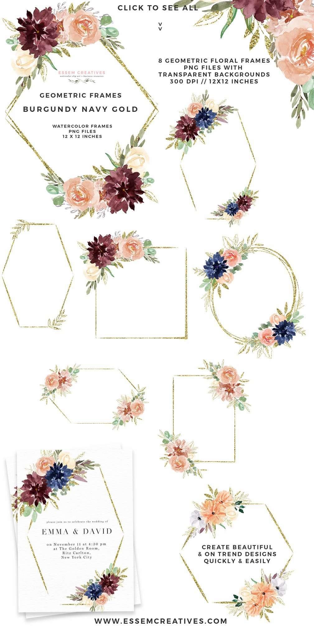 Hexagon Frame Wall Art