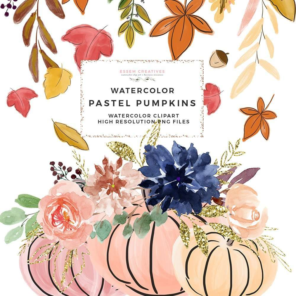 fall clipart pumpkin graphics thanksgiving halloween clipart