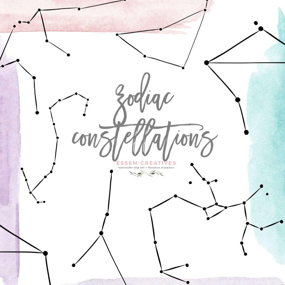 Zodiac Sign Clipart Astrology