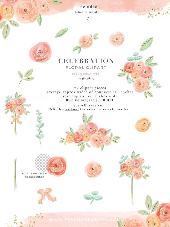 Floral Designs Transparent Background