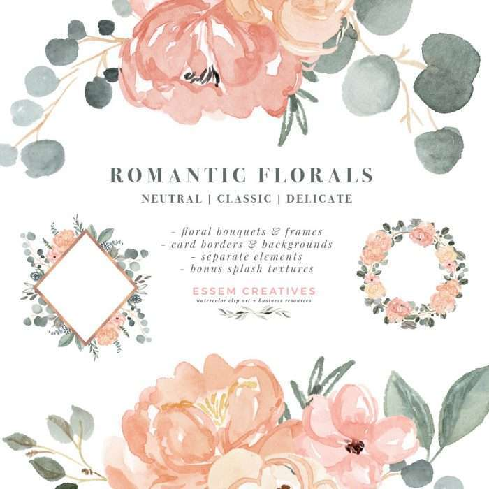 This is a set of watercolor floral clip art & digital graphics set (instant download). You will receive soft and romantic watercolor flower bouquets, wreaths, geometric floral frames with rose gold accents, card borders and backgrounds. Peaches and cream, blush pink sage dusty green, muted blues Wedding invitations, save the date, birthday party, bridal shower invites, bridesmaid proposal, thank you cards, seating charts, table number decor#weddinginvitations #watercolor Click to see more>>