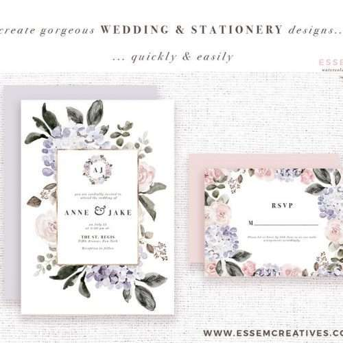Floral watercolor graphics as an instant digital download. Watercolor hydrangeas, david austin garden roses, peonies, leaves, branches foliage in soft, airy dreamy fall autumn color palette with neutral earthy tones of dusty mauve & purple, shades dusty rose champagne. Vintage rustic classic elegant floral watercolor wedding invitations & save the date cards, birthday party invites. floral bouquets, posies bunches, card borders & backgrounds. Click to see>> #watercolorflorals #weddinginvitation