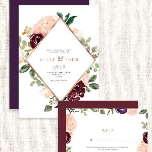 $7.90 Instant Download | Watercolor Flower Borders Backgrounds, Blush Burgundy Cream Plum Watercolor Flowers, Rustic Boho Fall Invitation Template Poster Flyer | Floral Watercolor Wedding Invitation Template 2019 2020 2021, Wedding Decor Inspiration Ideas, Save the Date Invites, Bridal Shower, Baby Shower, Birthday Party, Planner Stickers, Floral Digital Paper, Scrapbooking, Fabric, Photography Backdrop, Flower logo & brand website blog design. Click to see more>> #fallwedding #winterwedding
