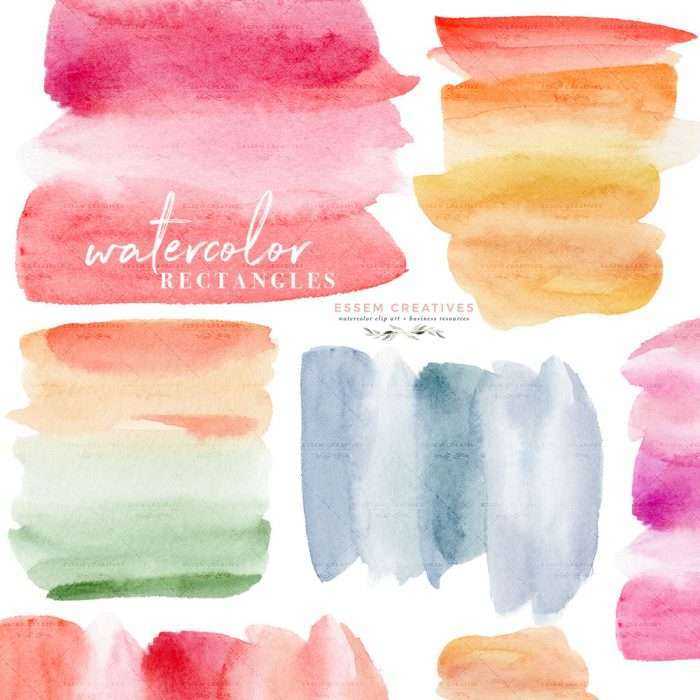 $4.90 Instant Download | Watercolor Splash Rectangles Clipart, Colorful Watercolour Ombre Textures for Labels Logo Branding Cards | Watercolor Digital Planner Stickers Post Its, Watercolor Wedding Invitation Template 2019 2020 2021, Wedding Decor Inspiration Ideas, Save the Date Invites, Bridal Shower, Baby Shower, Birthday Party, Planner Stickers, Watercolor Abstract Digital Paper, Scrapbooking, Fabric, Photography Backdrop, Logo & Website design. Click to see more>> #digitalplanning