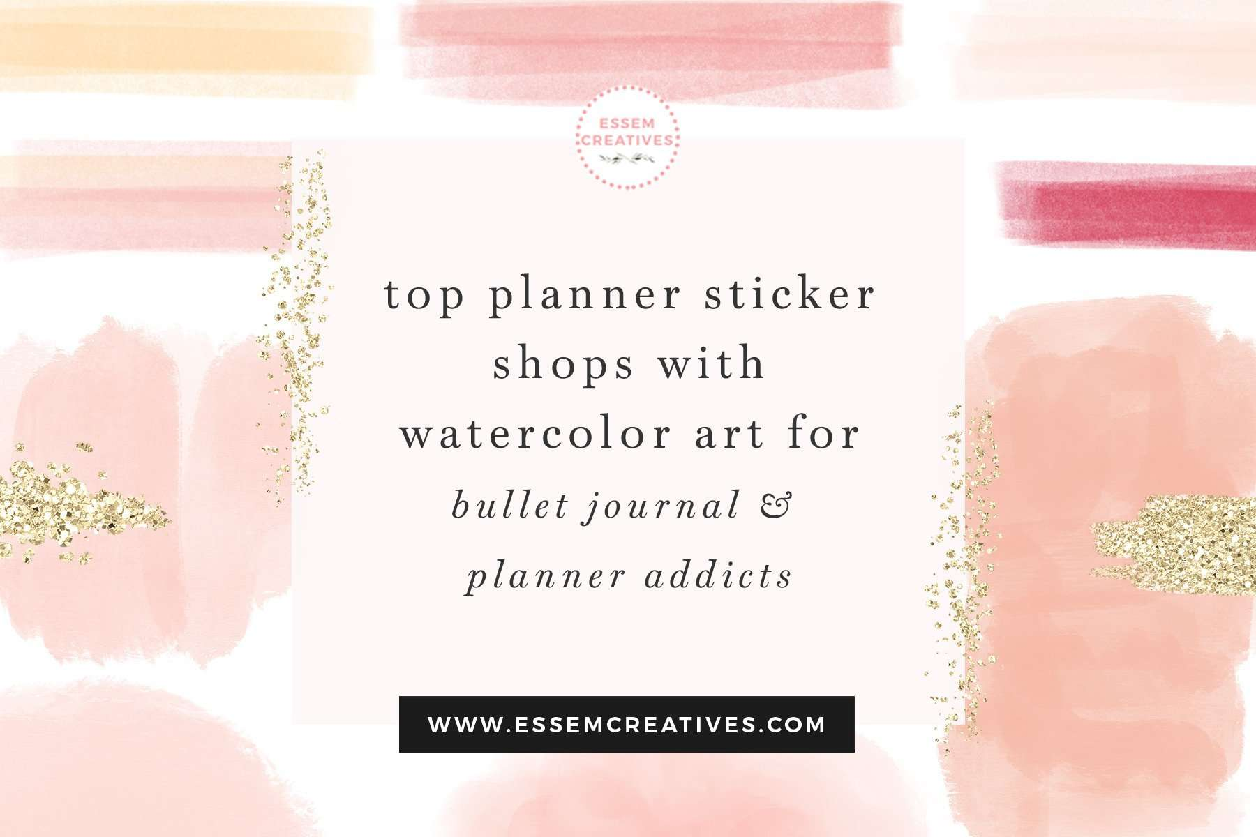 Are you a planner addict and love to use pretty stickers to jazz up your planner? Or do you prefer sticking to (pun totally intended) functional stickers like flags & tags to make sure you don't miss your appointments? Whether you use Erin Condren Planner, TN, Happy Planner, Bullet Journal or any other planner, if you're in the market for some planner sticker fun, here's a list of my favourites. Click to see more>> #plannerstickers #stickershops #planneraddict #bujo #bulletjournal #stickers