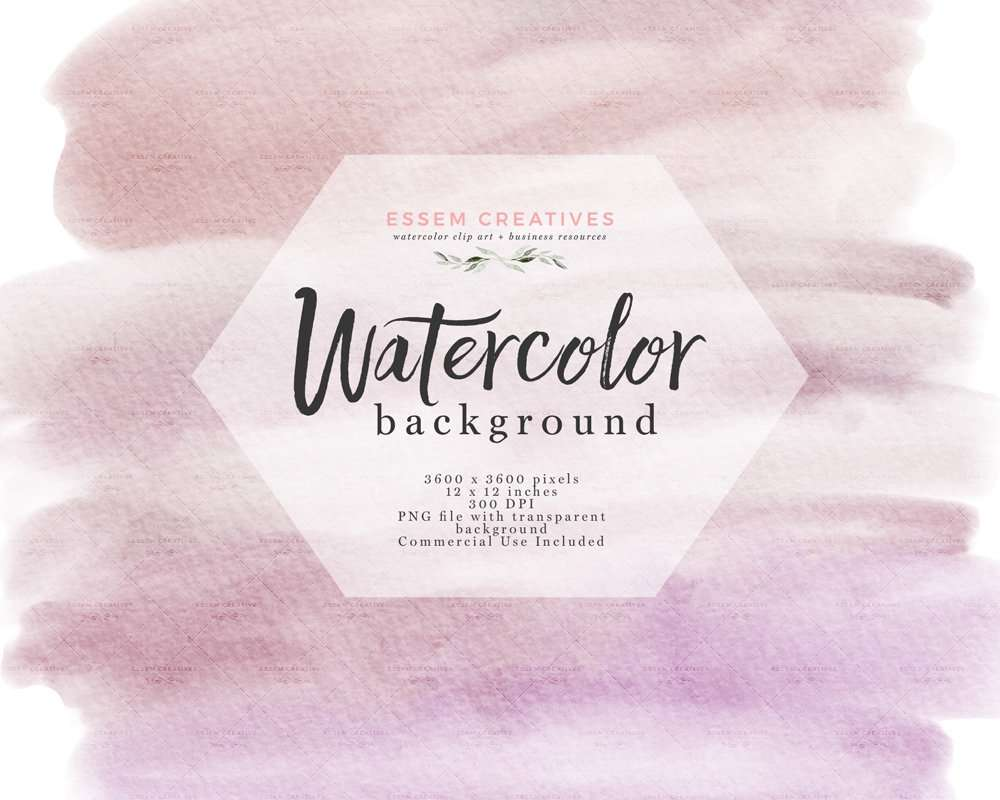 Watercolor Texture Splash Clipart Dusty Lilac Lavender Purple with Transparent Background | Watercolor Wedding Invitation Save the Date, Valentines Card Designs, welcome signs, logos & branding, shop announcements & more #watercolor #watercolortexture #invitations #planner