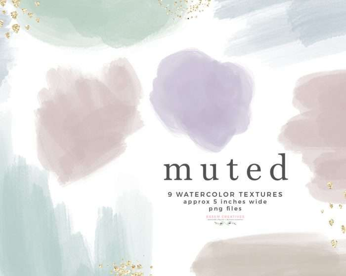 Muted Pastel Watercolor Textures Splashes Blobs Shapes Paint Brush Instant Download Commercial Use | These are perfect for creating watercolor labels, bullet journal, save the date cards, wedding invitations, photography marketing material, feminine logo and blog brand, birthday party, baby bridal shower, valentines day, planner stickers, planner dashboard decor, wall art prints. #watercolor #watercolortexture #invitations #planner #digitalplanner #plannerstickers #instagramhighlight