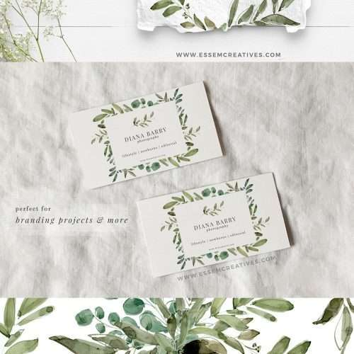 Watercolor Eucalyptus Clipart, Greenery Foliage Green Leaf Leaves Laurel Wreath Frames Borders | Watercolour illustrations to create greenery watercolour eucalyptus wedding invitations, save the date, gift tags, greeting cards, bridal shower, gender neutral baby shower, Kids Birthday Party invites, menu card, table numbers, posters, flyers, logo blog brand stationery, planner stickers, scrapbook, sublimation prints, nursery wall art. Click to see more>> #eucalyptus #weddinginvitations
