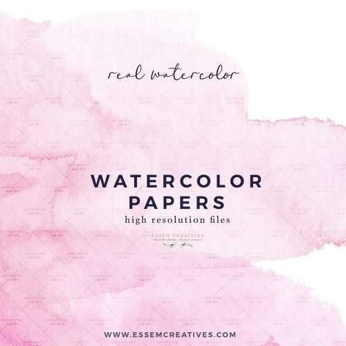Watercolor Papers, Digital Papers Watercolor Background Textures Overlays Printable Scrapbook Paper | Wedding Invitation, Bridal Shower, Baby Shower, Instagram Stickers, Digital Stickers, Planner Stickers, Graphic Design Resources for Invitations, Stationery, Scrapbooking, Sublimation Design Ideas and more | Click to see more>> #watercolor #digitalpaper