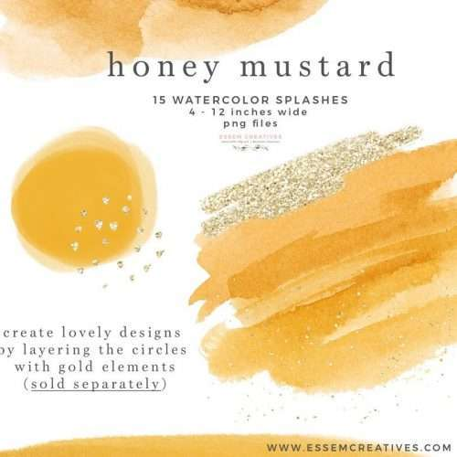 Honey Mustard Watercolor Clipart Graphics Background Border, Yellow Abstract Watercolor Splash Brush Strokes Invitations Branding Logo Scrapbook Planner | Instagram Story Highlight, NEW dusty blue watercolour clipart for wedding invitations, watercolor labels, birthday party invitations, bullet journal, birthday party, baby shower, bridal shower, planner stickers decor, wall art prints, sublimation, digital or mixed or paper scrapbooking, branding, watercolor texture #watercolor #digitalplanner