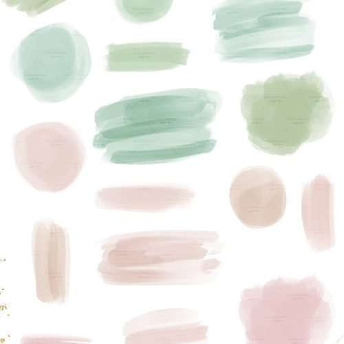 Pastel Christmas Watercolor Clipart Graphics Background Border, Blush Pink Aqua Green Watercolor Splash Brush Strokes Invitations Scrapbook Planner | Instagram Story Highlight, Holidays Christmas watercolour clipart for wedding invitations, watercolor labels, birthday party invitations, bullet journal, birthday party, baby shower, bridal shower, planner stickers decor, wall art prints, sublimation, digital or mixed or paper scrapbooking, branding, watercolor texture #watercolor #digitalplanner