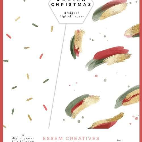 Abstract Christmas Digital Papers, Watercolor Holiday Printable Paper Pack, Festive Scrapbook Wrapping Paper | Instagram Story Highlight, Holidays Christmas watercolour clipart for wedding invitations, watercolor labels, birthday party invitations, bullet journal, birthday party, baby shower, bridal shower, planner stickers decor, wall art prints, sublimation, digital or mixed or paper scrapbooking, branding, watercolor texture #watercolor #digitalpaper