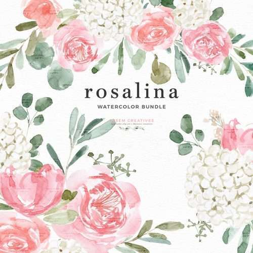Rosalina Pink Peony White Hydrangea Flowers Clip Art, Watercolor Floral Clipart Graphics Sublimation PNG Print and Cut File | Perfect for stationery designs, logo, branding, planner stickers, scrapbooking, bridal shower invitations Spring Summer Summer watercolor wedding invitations, save the date cards, logo & branding, gift tags, girl baby shower invitations, greeting cards, birthday party or bridal shower invites and more. Click to see more>>