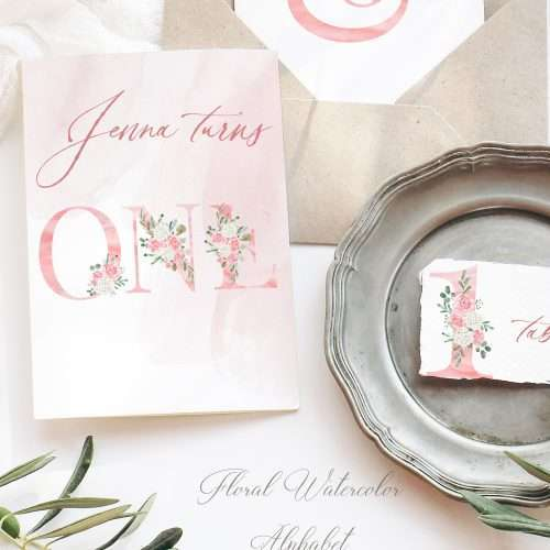 Blush Watercolor Floral Alphabet Digits Numbers Font Letters Clipart 2021 2022 2023   Perfect for rustic, vintage watercolor wedding invitations, sublimation design png, print and cut file for cricut, bridal shower party, girl baby shower invites, Save the Date cards, birthday party, menu, table numbers, girl nursery wall art printable, digital stickers, welcome sign, logo branding packaging, gift tags, greeting cards, planner stickers for commercial use. Click to see more>>