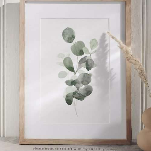 Watercolor Eucalyptus Branch Wreath Leaf Clipart PNG Foliage Greenery Botanical Illustrations Border Frame   Eucalyptus watercolour wedding invitations, save the date card, gender reveal party invites, gender neutral baby shower invitations, posters flyers, scrapbooking resources, surface pattern illustration, digital planner stickers, flower logo & brand design, nursery decor, photography backdrop, card borders   Click to see more>>