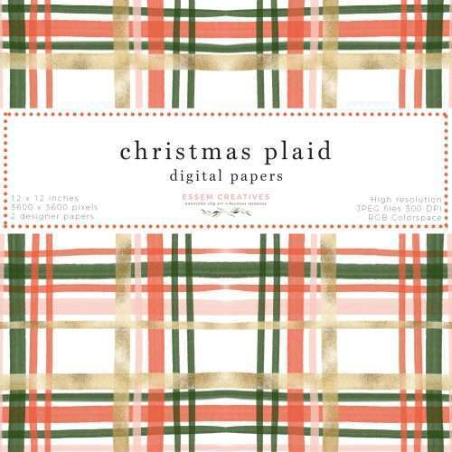 Use this as a Holiday card background or print as sublimation design on t-shirts, mugs, etc., planner stickers, the options are endless. You can also print them out as modern and festive gift wrapping paper, create matching Christmas gift tags and labels, and so much more. Click to see more>>